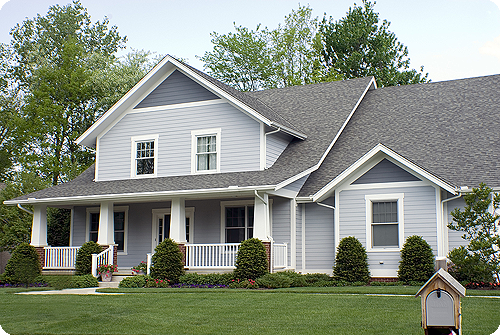 Toledo, Ohio home with a new roof